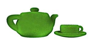 Boisson organique de thé Images libres de droits