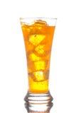 boisson refroidie avec de la glace Photo stock