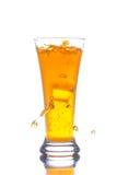 boisson refroidie avec de la glace Image stock