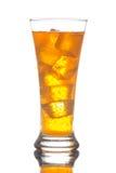 boisson refroidie avec de la glace Photographie stock