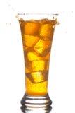 boisson refroidie avec de la glace Photos stock