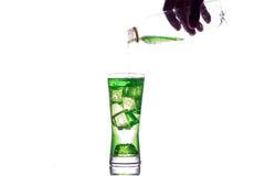 boisson refroidie par bonbon Photographie stock libre de droits