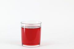 Boisson rouge Photo stock