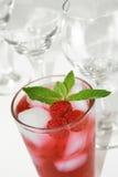 Boisson rouge régénératrice de cocktail Images stock