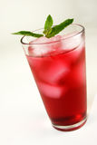 Boisson rouge régénératrice de cocktail Photo libre de droits