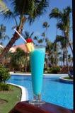 Boisson tropicale à la station de vacances Photos stock