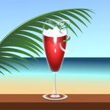 Boisson tropicale de cocktail illustration stock