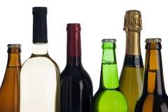 Boissons alcooliques Photo libre de droits