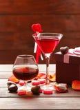 Boissons alcoolisées pour la partie de fête images libres de droits