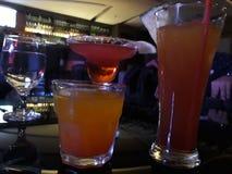 Boissons de cocktail Photos libres de droits