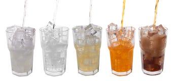 boissons douces photo stock