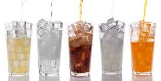 boissons douces photographie stock libre de droits