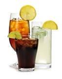Boissons non alcoolisées Photo stock