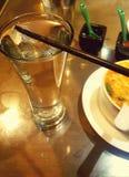 Boissons non alcoolisées de l'it& gentil x27 en verre ; s frais photographie stock libre de droits