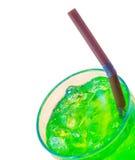 Boissons non alcoolisées vertes de saveur de fruit Photographie stock