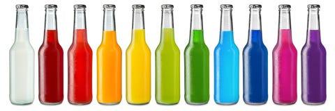 Boissons non alcoolisées colorées Images libres de droits