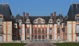 Exteriors and park of Grosbois castle, Boissy saint leger, France Stock Photos