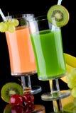 boit l'expert en logiciel organique de jus de santé de fruits frais Image stock