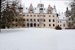 boitzenburg城堡uckermark 免版税图库摄影