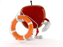 Boj för liv för Apple tecken hållande stock illustrationer