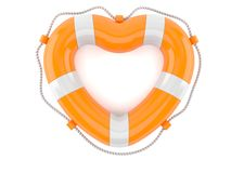 Boj i hjärtaform vektor illustrationer