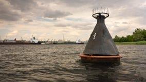 Boj på den Dnieper floden, Ukraina Fotografering för Bildbyråer