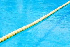 boja na basenie Obrazy Stock