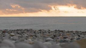 Boja na suset morzu - Gruzja zbiory wideo