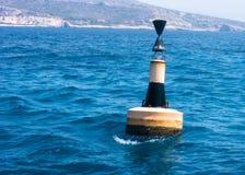 Boja w morzu Zdjęcia Stock