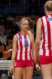 Bojana Radulovic. Crvena Zvezda team Stock Images