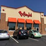 Bojangle' s Fried Chicken restaurant Stock Afbeeldingen