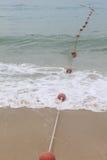 Boje im Meer Stockbild