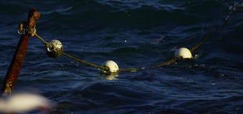 3 Bojen im Ozean stock footage