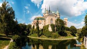 bojnice城堡斯洛伐克 免版税图库摄影