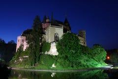 bojnice城堡 免版税图库摄影
