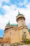 Bojnice的塔 库存照片
