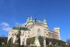 Bojnice Castle στη Σλοβακία Στοκ φωτογραφία με δικαίωμα ελεύθερης χρήσης