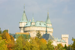 Bojnice Castle Stock Images