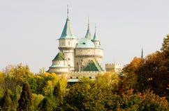 Bojnice Castle stock photos