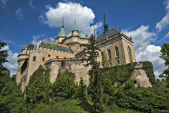 Bojnice Castle Royalty Free Stock Photography