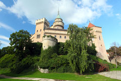 Bojnice castle and park Royalty Free Stock Photos