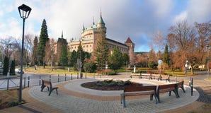 Bojnice castle and park, Slovakia royalty free stock photo