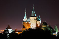 Bojnice castle, Slovakia Royalty Free Stock Photography