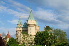 Bojnice Castle in Slovakia Stock Photos