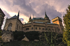 Bojnice Castle. In Slovakia country Royalty Free Stock Photography