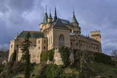 Bojnice Castle. In Slovakia country Stock Photography