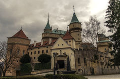 Bojnice Castle. In Slovakia country Royalty Free Stock Photo
