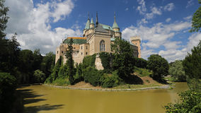 Bojnice castle , Slovakia Royalty Free Stock Photos