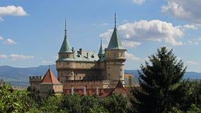 Bojnice castle , Slovakia royalty free stock image
