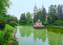 Bojnice Castle (Slovakia) Royalty Free Stock Images